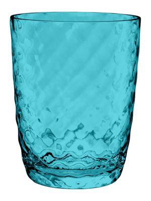 Aqua Blue Glass 18 oz