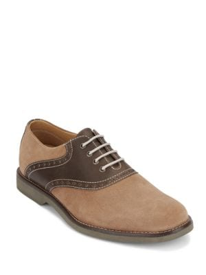 Parker Textured Lace-Up...