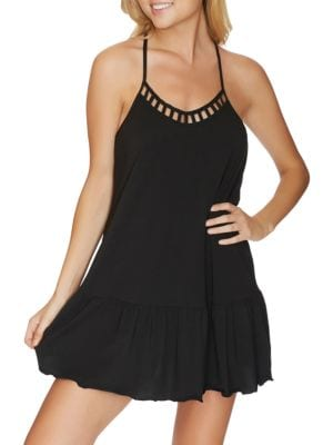 Cove Solids Flounce Dress by Reef