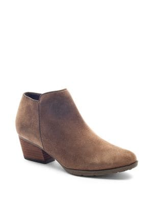 Villa Suede Ankle Boots by Blondo