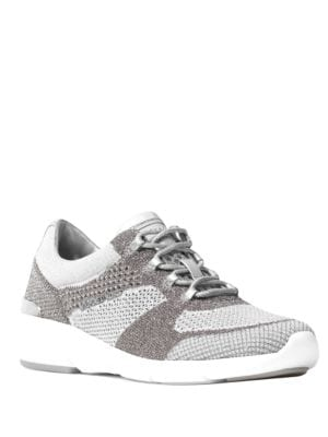 Skylar Knitted Colorblock Sneakers by MICHAEL MICHAEL KORS