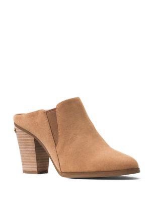 Braden Suede Mule Shoes by MICHAEL MICHAEL KORS