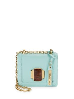 Bessie Small Leather Crossbody Purse by Via Spiga
