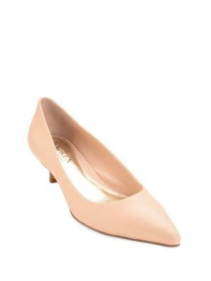 Photo of Abbot Kitten Heel Leather Pumps by Lauren Ralph Lauren - shop Lauren Ralph Lauren shoes sales