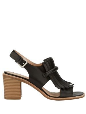 Reagan Leather Dress Sandals by G.H. Bass