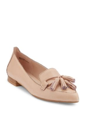 Kelsey Leather Dress Flats by G.H. Bass