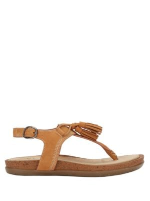Sadie Leather Slingback Sandals by G.H. Bass