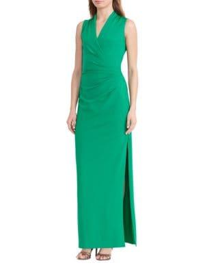 Ruched Jersey Gown by Lauren Ralph Lauren
