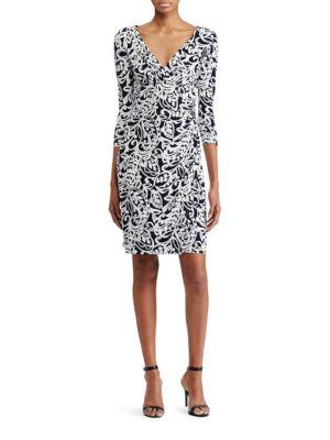 Paisley Jersey Dress by Lauren Ralph Lauren