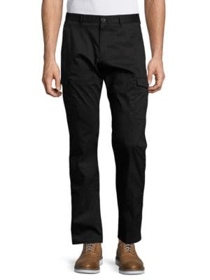 Stretch-Cotton Cargo Pants by Calvin Klein