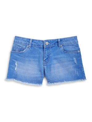 Girls Cutoff Jean Shorts...