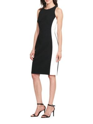 Colorblock Ponte Dress by Lauren Ralph Lauren