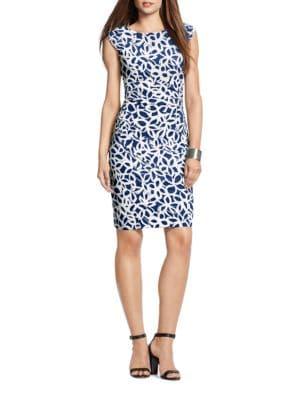 Floral Jersey Dress by Lauren Ralph Lauren