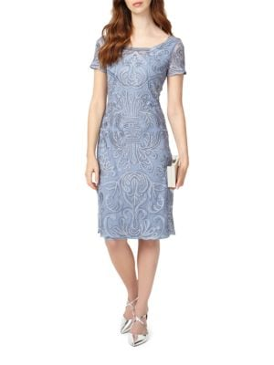 Talia Embroidered Dress by Phase Eight