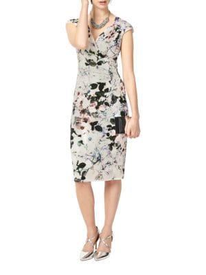 Carla Floral-Print Dress by Phase Eight