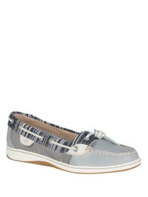 Dune Fish Leather Boat Shoes by Sperry