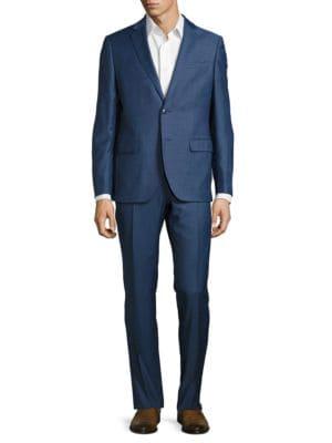 Jack Wool Blazer and Pants Suit by Black Brown