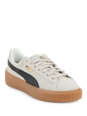 Suede Platform Core Sneakers by PUMA