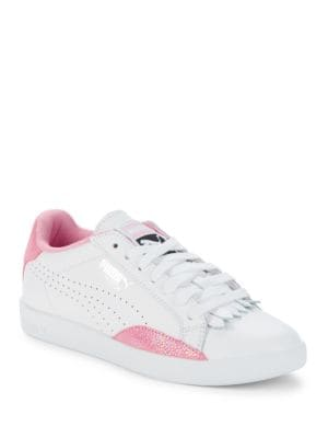 Match Lo Reset Leather Low-Top Sneakers by PUMA