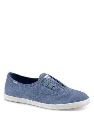 Chillax Canvas Slip-On Sneakers by Keds