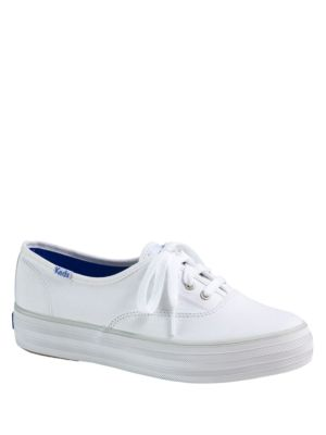 Triple Core Canvas Platform Sneakers by Keds