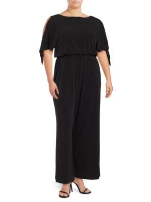 Split-Sleeve Jumpsuit by Vince Camuto Plus