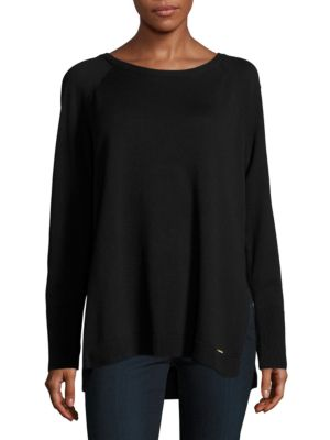 Knit Tunic Sweater by Calvin Klein