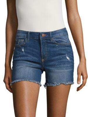 Hope Denim Cut-Off Shorts...