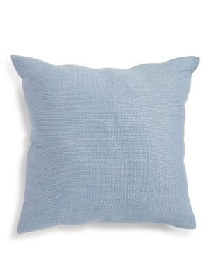Bay Flower Raffia Lines Pillow