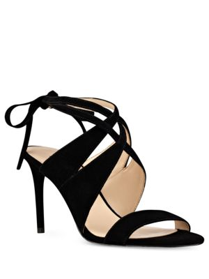 Ronnie Suede Dress Sandals by Nine West