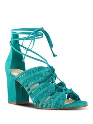 Photo of Genie Lace-Up Sandals by Nine West - shop Nine West shoes sales