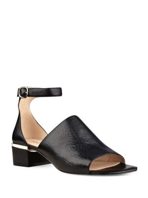 Yorada Smooth Leather Sandals by Nine West