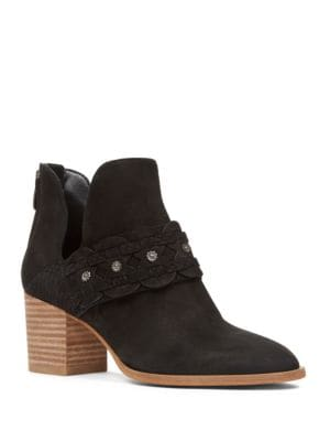 Danbia Zipper Booties by Nine West