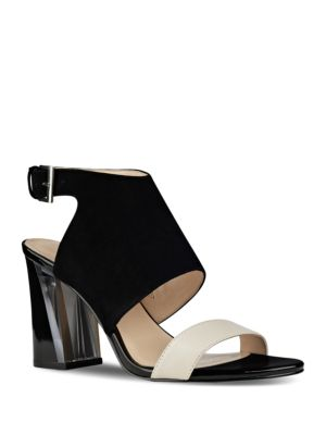 Moshpit Covered Suede Sandals by Nine West