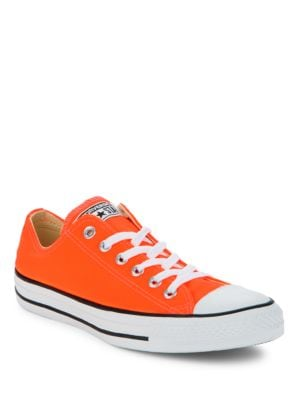 Buy Cap-Toe Lace-Up Sneakers by Converse online