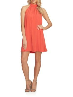 Solid Halter Dress by Cynthia Steffe