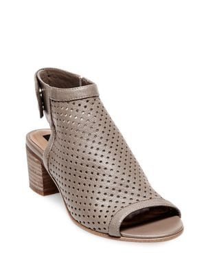 Sambar Perforated Leather Sandals by Steven by Steve Madden