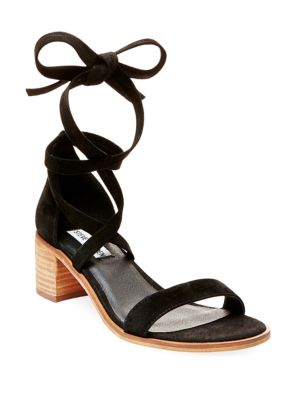 Rizzaa Kid Suede Sandals by Steve Madden