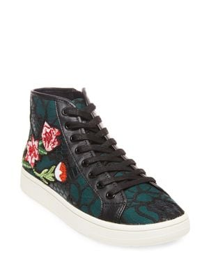 Allie Patchwork Sneakers by Steve Madden