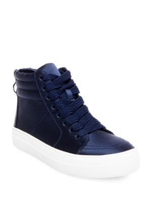 Golly Satin Sneakers by Steve Madden