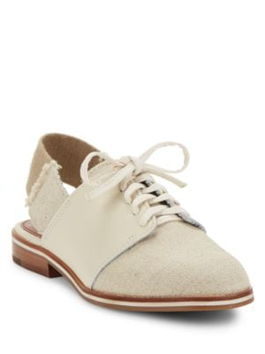 Lavanah Slingback Denim Oxfords by Ed Ellen Degeneres