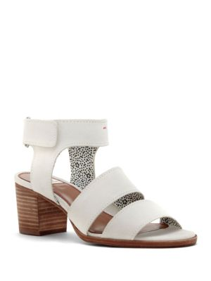 Tahni Leather Open-Toe Sandals by Ed Ellen Degeneres