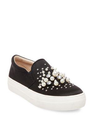 Studded Slip-On Sneakers by Steve Madden