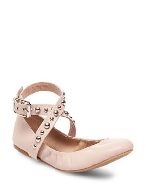 Mollie Leather Flats...