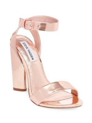 1d48f0b9779 STEVE MADDEN Treasure Leather Dress Sandals