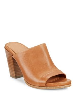 Serella Leather Mules by Gentle Souls