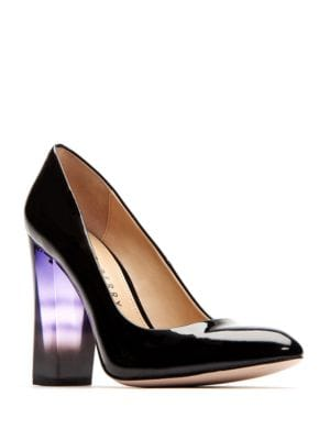 A.W. Patent Leather Point Toe Pumps by Katy Perry