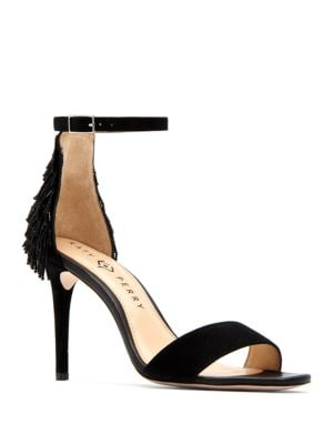 Kate Suede Stiletto Heels by Katy Perry