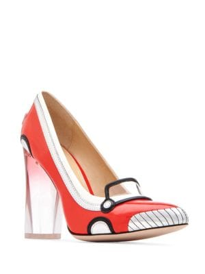 Thelma Patent Leather Pumps by Katy Perry