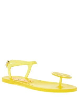 Geli Lime-Accent Sandals by Katy Perry